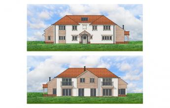 Permission granted for new dwelling in the countryside!