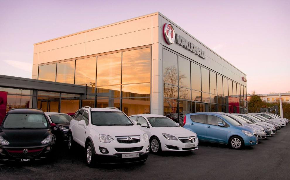 Penton Group Vauxhall car dealership