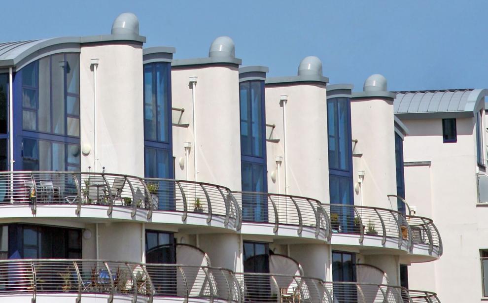 Exterior view of the development