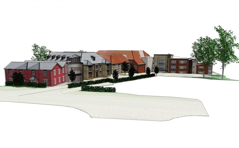 3D View of scheme